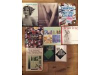 9 art books