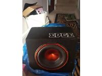 Amplifier and Bass Box for sale