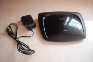 wireless router, wireless modem, power supply, keyboard, mouse