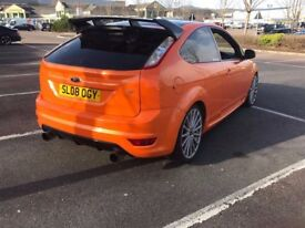 FORD FOCUS ST 225 TURBO NICE SPEC 330 BHP NEEDS TLC LOW MILES FSH MAY PX