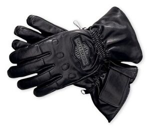 Harley Davidson Mens Windshielder Gauntlet Gloves
