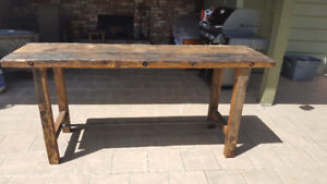 Unique Reclaimed Wood Table