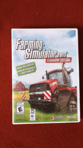 Pc and Mac farming simulator 2013 Platinum edition