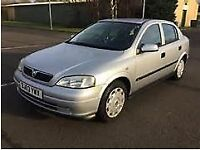 VAUXHALL ASTRA 1.6 LOW MILES FULL SERVICE HISTORY 11 MONTHS MOT