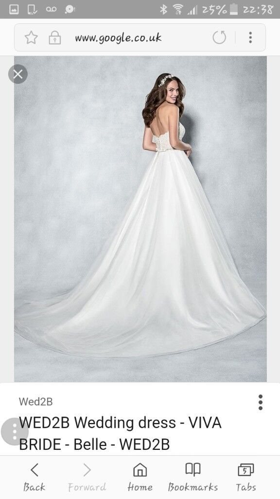 WED2B Belle Wedding Dress BNWT
