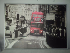 Ikea London Bus Frame / Cadre et Photo / Picture and Frame