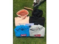 Supreme Hoodie and Jackets Nuptse Collection