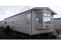 STATIC CARAVAN sited at Selsey on large quiet plot