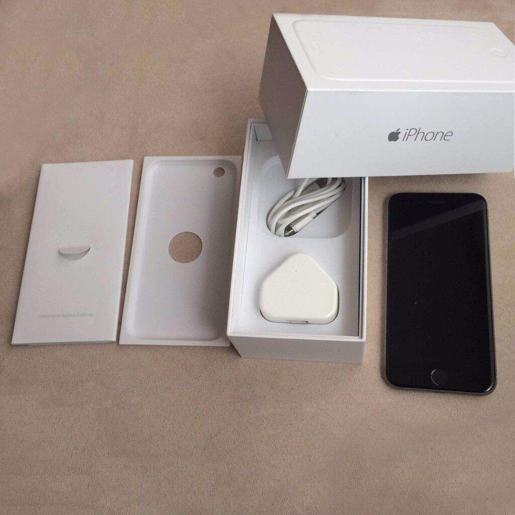 iPhone 6 16GB Unlocked (Grey) in excellent mint condition like newin Pendlebury, ManchesterGumtree - Up for sale is an Apple iPhone 6 16GB Unlocked (Grey) smartphone. Comes with box, charger, Apple paperwork/ booklets, SIM ejection tool. The phone is in excellent Condition and Perfect Working Order. No scratches or marks around (10/10). Bezel also...
