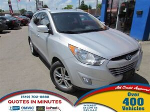 2013 Hyundai Tucson GLS | LEATHER | BLUETOOTH | SAT RADIO