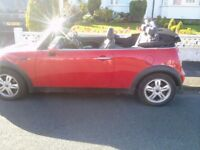 Bargain - Very reliable 05 Red Mini One Convertable. One owner.