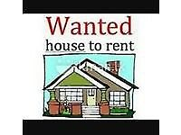 Wanted 2/3 bedroom house excellent references