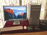 2009 Mac Pro (12GB,1TB) + Apple HD Cinema Display + miscellaneous extras