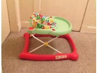 Mothercare Baby walker (+ FREE BRIGHT STAR BABY BOUNCER!!)