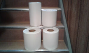 8 Rolls of photo paper for an inkjet commercial photo printer