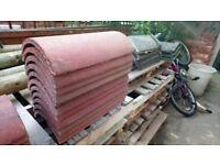 11 farmhouse red ridge tiles new marley segmental roof roofing