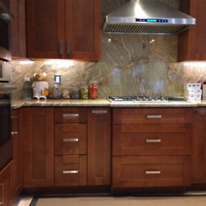 SOLID WOOD Kitchen Cabinets Delivered to you in about one week