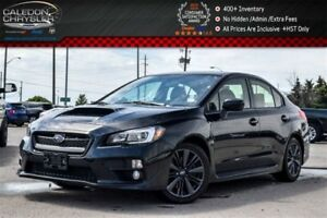 2015 Subaru WRX w/Sport Pkg|Sunroof|Backup Cam|BluetoothHeated F