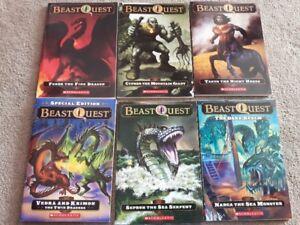 Beast Quest set
