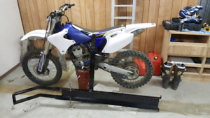 Yz250f with extras