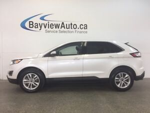2017 Ford EDGE SEL- AWD! PUSH BTN START! HEATED SEATS! REV CAM!
