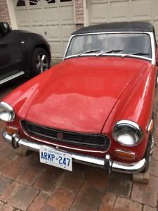 1971 MG MIDGET FOR SALE FOR $4500 - FINAL OFFER
