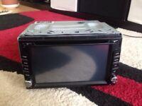 Car radio DVD player
