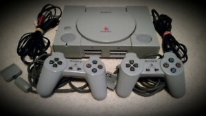 Chipped Playstation 1 Mint condition