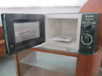 Small Green microwave 800w by Sharp