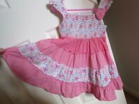 Summer dress, size 2-3 years