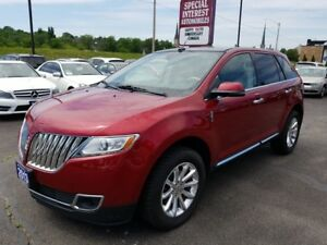 2013 Lincoln MKX ACCIDENT FREE !! DVD ENTERTAINMENT SYSTEM !!