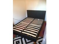 £45 - Double bed frame (excellent condition)