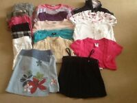 Bundle of girls clothes age 8-9 years, 18 items