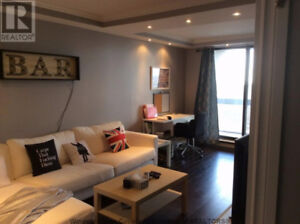 Renovated 1 bedroom condo high floor with water and city view