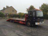 Volvo Fl6 plant recovery truck not tilt n slide