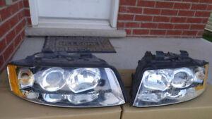 2004 Audi A4 headlamps