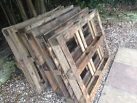 FREE wood pallets to collect