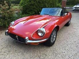 Jaguar E-TYPE roadster uk car rhd
