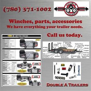 Trailer parts, Winch, Hitch and Receivers, Trailer Accessories