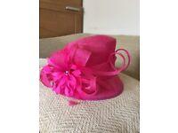 Ladies Formal Pink Hat (John Lewis)