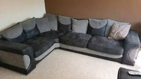 Corner Sofa and 3 Seater Sofa