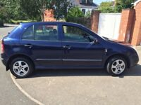 Skoda fabia long mot service history economical tidy cd alloy big boot £575ono