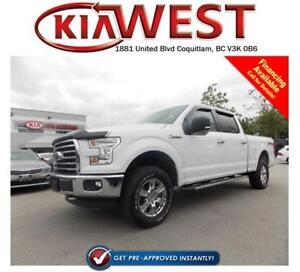 2015 Ford F150 XLT SuperCrew 4X4 V8