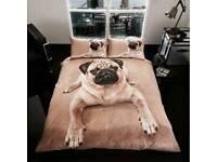 Pug Duvet Set
