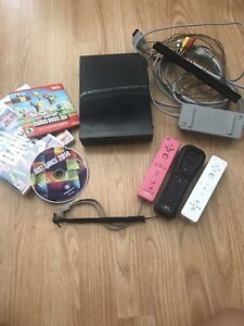 Wii console system