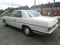 Mercedes-Benz 250 CE Auto W114 Coupe 1972 K reg Tax Except