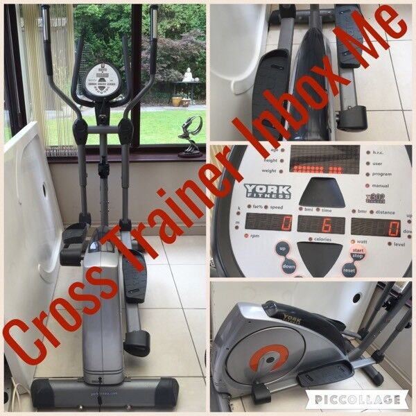 Cross Trainer York Fitnessin Loughborough, LeicestershireGumtree - Cross Trainer York Fitness COLLECTION ONLYFrame Trainer 155cmWeight the trainer can hold over 20 stonesIn very good condition, hardly used.Collection from Loughborough, no delivery.£180 or make me offer