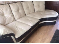 Leather Suite - 4 Seater & 1 Seat