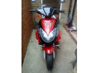 Geeley super speed 50cc moped px