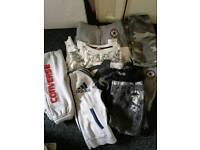 Boys clothing job lot converse.. Adidas etc
